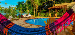 Pool at Sansara Surf & Yoga Retreat